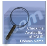 Click to check the availability of your required domain name
